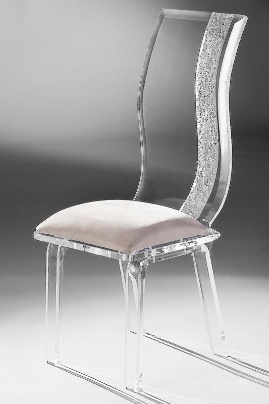 Wave Acrylic Chair