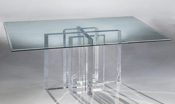 Acrylic Dining Table USA
